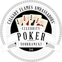 Flames Ambassadors' Celebrity Poker Tournament Logo